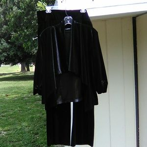 Apt 9 Black Pants An Cover Up